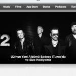 ITUNES'DAN HEDİYE: U2 – SONGS OF INNOCENCE
