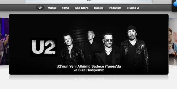 u2 itunes apple