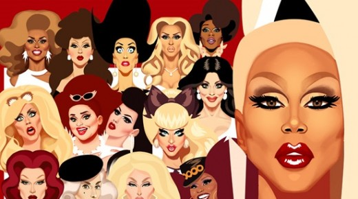 TOP 10: RUPAUL'S DRAG RACE