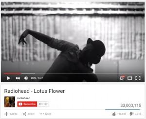 Radiohead - Lotus flower