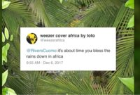 COVER: WEEZER – AFRICA (TOTO)