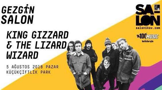 ORADAYIZ: GEZGİN SALON – KING GIZZARD & THE LIZARD WIZARD, WOLF ALICE, AMYL AND THE SNIFFERS